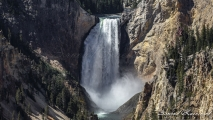 Grand Canyon of the Yellowstone - Artist Point (Lower Falls)