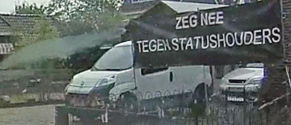 """""""Zeg nee tegen statushouders"""""""