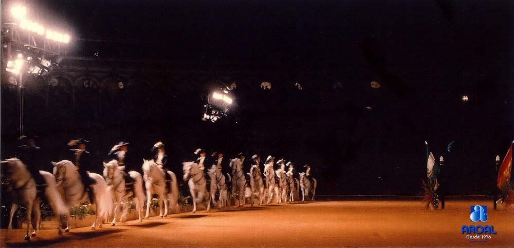 Arte en la Maestranza. Como bailan los caballos... (2/4)