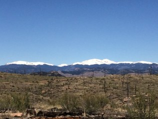 Rosalie, a beautiful 13er, is visible to the north.