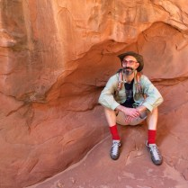 We were lucky to have our adventurous brother, Tad, along for this trip.