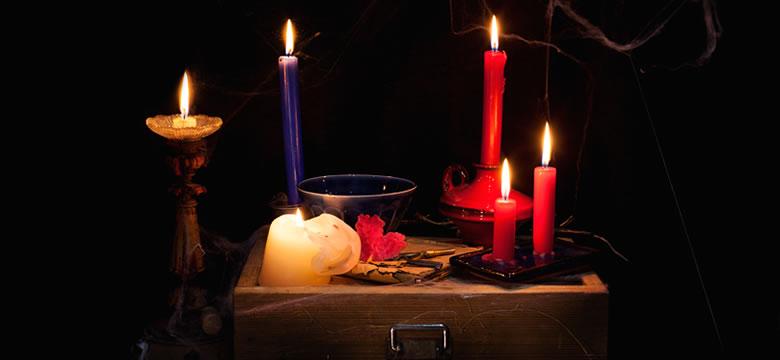 Interpretar el humo de una vela