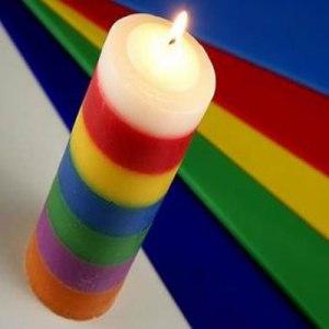 velas de siete colores