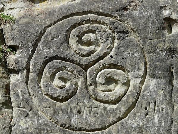 El trisquel celta, más que un talismán