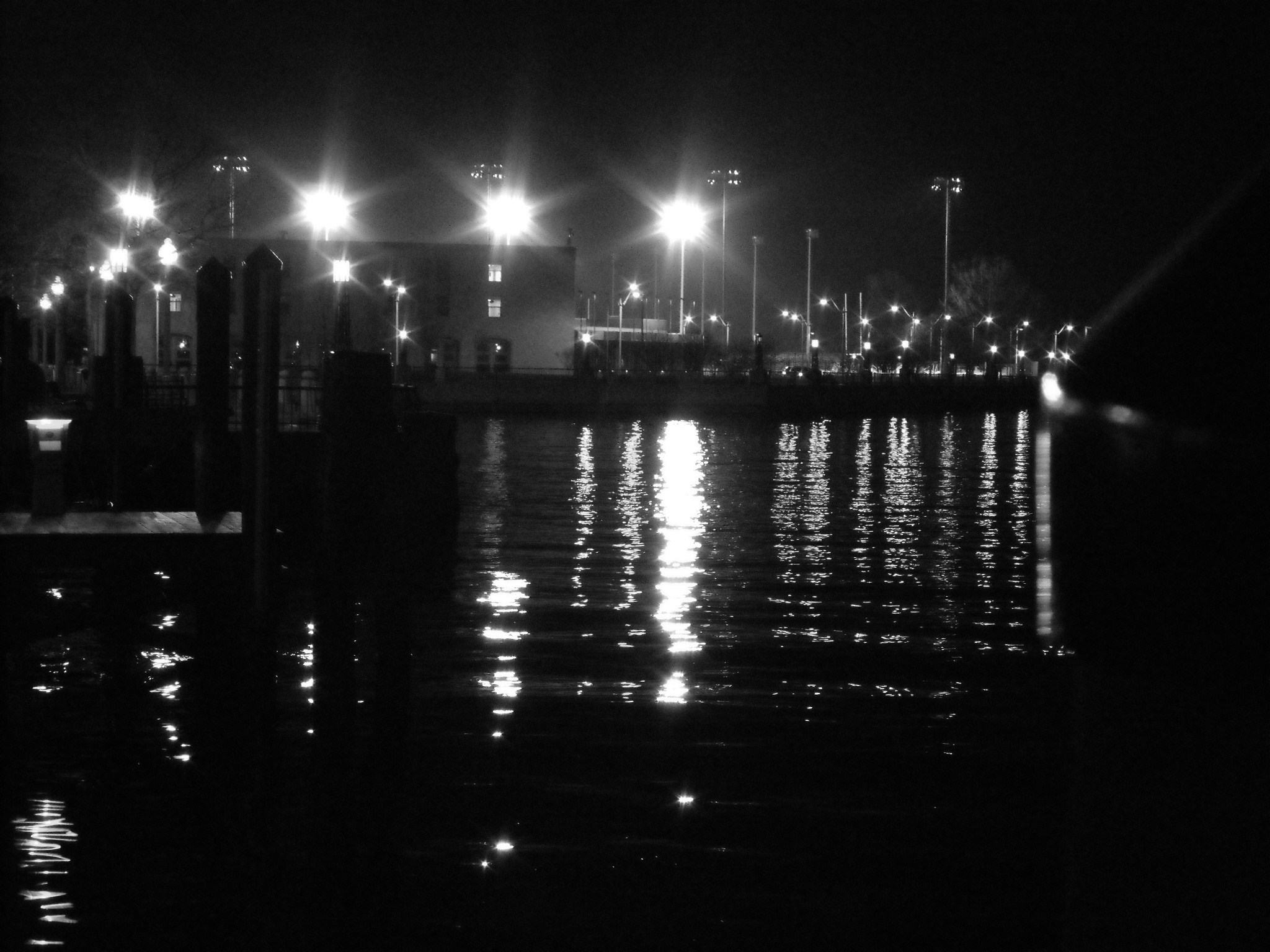 from the end of city dock