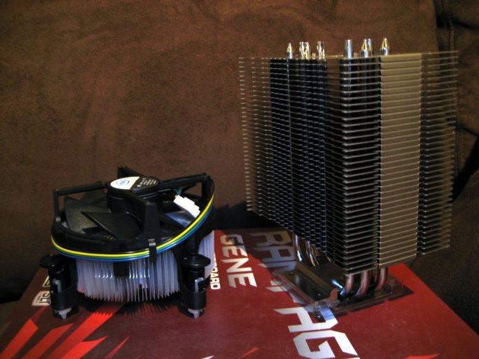 CPU Cooler: Intel vrs Noctua