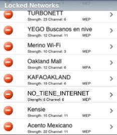No tiene internet