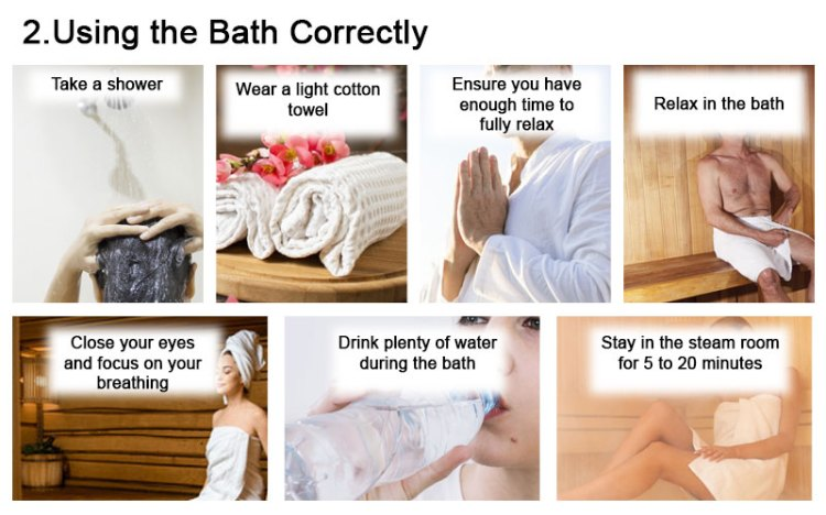 Using the Bath Correctly