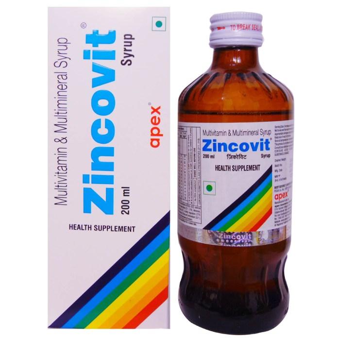 Zincovit Tablet Uses in Hindi जिंकोविट टैबलेट के फायदे