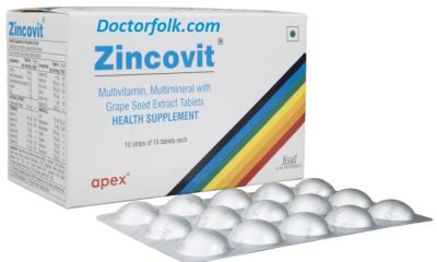 Zincovit Tablet Uses in Hindi झिंकोवीट के उपयोग