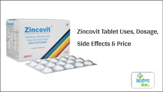 Zincovit Tablet Uses