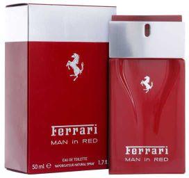 Красный парфюм от Ferrari