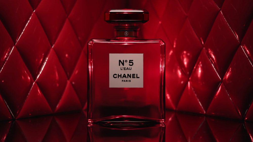 Красный  Chanel №5