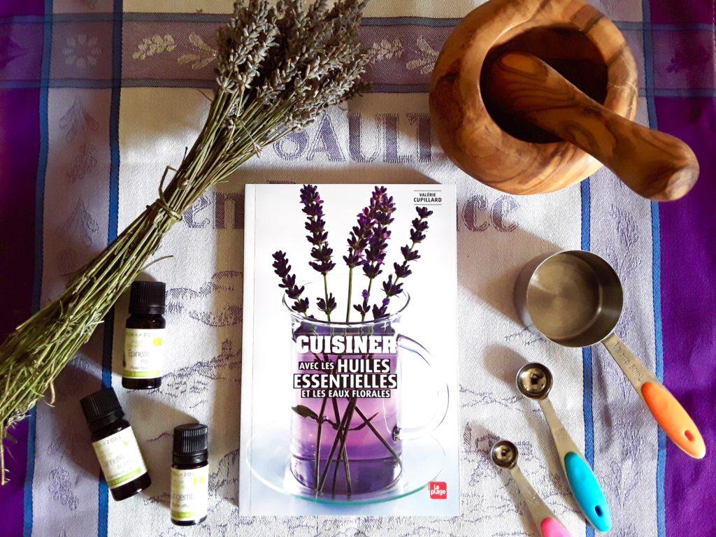 livre cuisiner avec les huiles essentielles
