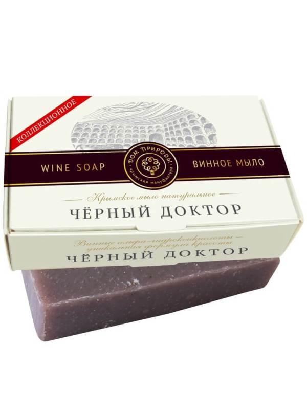 Крымское мыло натуральное «Черный доктор»