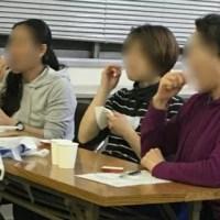 介護現場でのクレイセラピー 歯磨き4