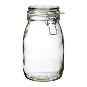 bocal en verre pour kéfir