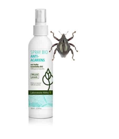 Spray anti acariens bio