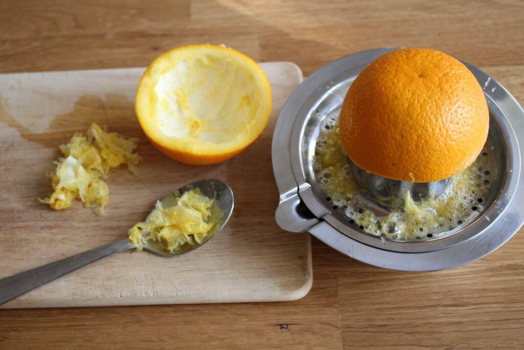 Orangen-Windlicht selbermachen