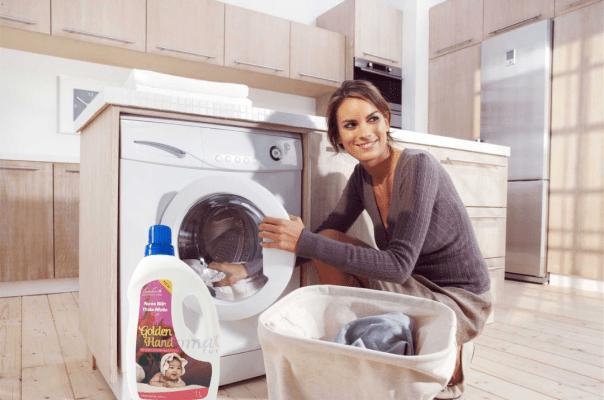 nước giặt từ thiên nhiên, an toàn cho da bé, hương thơm dịu nhẹ