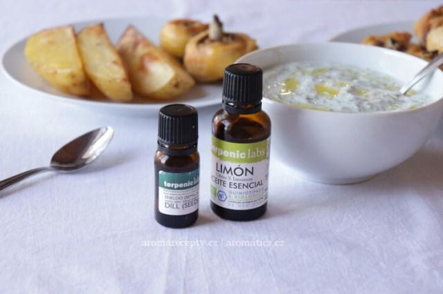 Esenciální oleje Terpenic při vaření - aromatická kuchyně
