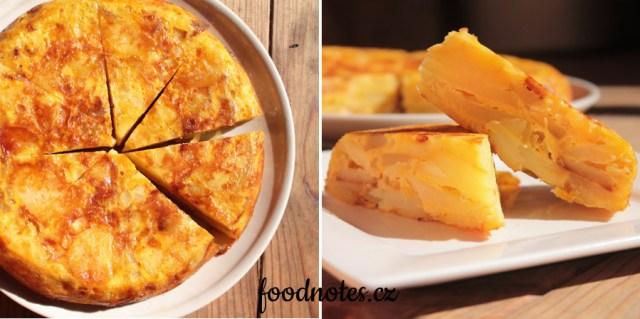 Španělská tortilla de patatas, jednoduchý recept