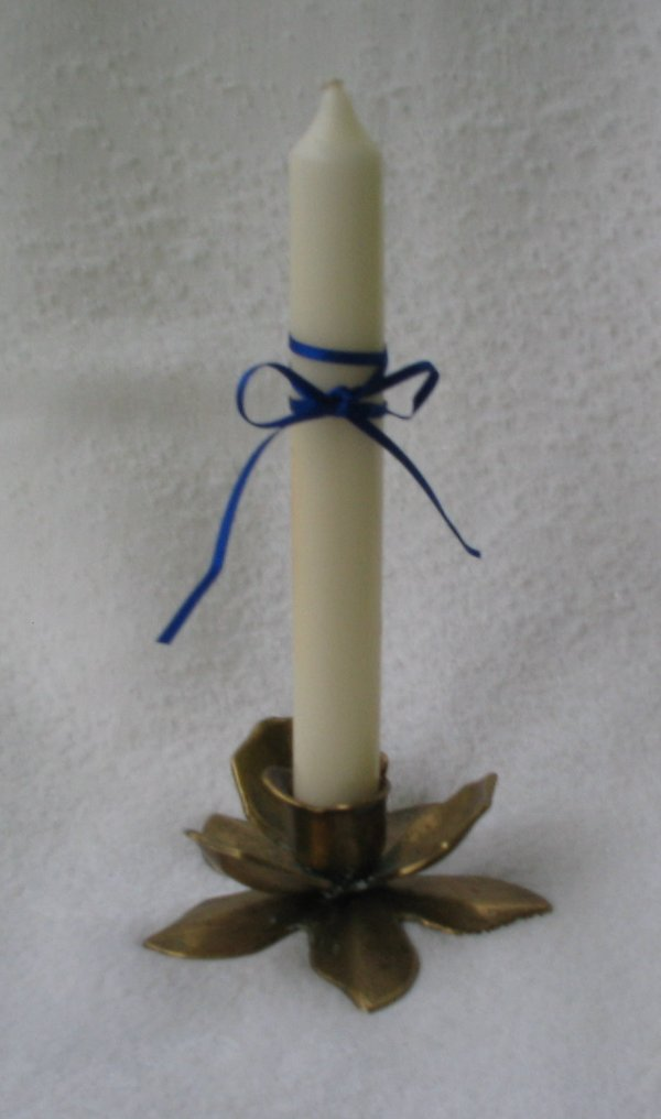 neutralisierte Kerze