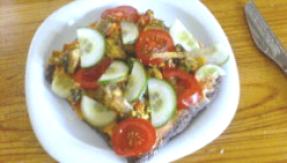 Gemüsepizza roh