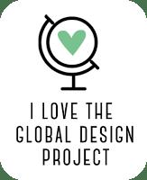 Global Design Project Love Badge