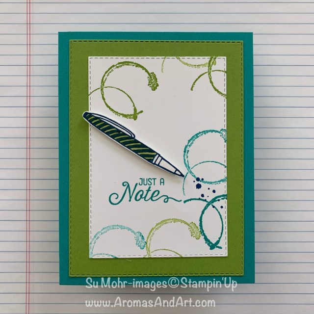 By Su Mohr for WWYS? Click READ or VISIT to go to my blog for details! Featuring: Timeless Texture stamp set, Flourishing Phrases stamp set, Crafting Forever stamp set; #notecards #crafting #handmadecards #handcrafted #timelesstexture #flourishingphrases #stampinup #cardchallenges #doodling
