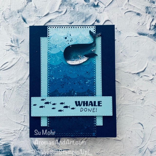 By Su Mohr for FMS; Click READ or VISIT to go to my blog for details! Featuring: Whale Done Stamp Set, Whale of a Time Designer Paper, Stitched Rectangles Dies, Ornate Layers Dies; #whaledone #whaleofatime #whales #whalesoncards #sealife #handmadecards #handcrafted #diy #cardmaking #papercrafting #clean&simple #cardsforkids #oceancards #cardsketches #cardinspiration