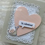 By Su Mohr; Click aromasandart.com to go to my blog for details! Featuring: January Paper Pumpkin, Ornate Layers Dies, Special Day Dies, Stitched Be Mine Dies; #paperpumpkin #paperpumpkinalternatives #valentines #hearts #heartsoncards #snails #snailsoncards #snailmail #snailedit, #handmadecards #handcrafted #diy #cardmaking #papercrafting #stamping #stampinup2021