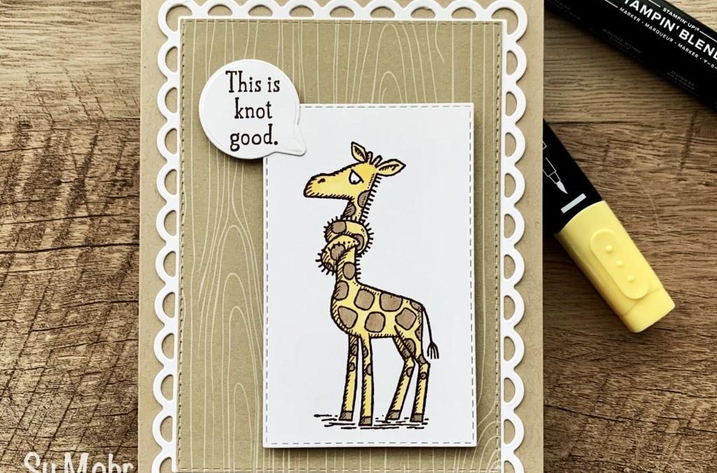 Back On Your Feet Giraffe