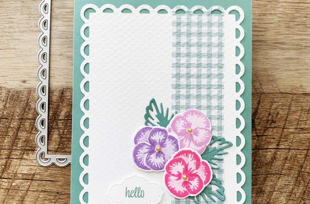 Pansy Patch 3-Step Stamping