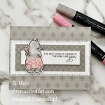 """By Su Mohr for TGIF; Click aromasandart.com to go to my website for details! Featuring: Count On Me Stamp Set, Always In My Heart Stamp Set,Ornate Layers Dies, Neutrals 6X6"""" Designer Paper; #countonme #alwaysinmyheart #bears #bearsoncards #friendshipcards #paperdolls #bloomers #handmadecards #handcrafted #diy #cardmaking #papercrafting #stampinup #sumohr #aromasandart.com/shop #cardchallenges"""