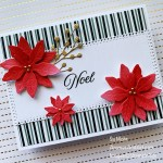 For GDP 310; Click aromasandart.com to go to my website for details! Featuring: Poinsettia Dies, Tidings & Trimmings Stamp Set, Ornate layers Dies, Metallic Pearls, Brushed Metallic Cardstock; #poinsettias #flowers #poinsettiasoncards #tidingsofchristmas #christmascards #holidaycards #holiday2021 #handmadecards #handcrafted #diy #cardmaking #papercrafting #sumohr #aromasandart.com/shop #stampinup #stamping