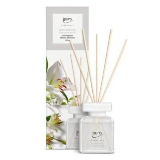 white lily, ipuro, geurstokjes, essentials,