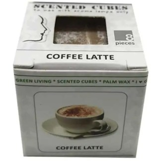 coffee latte, scented cubes, waxmelts, scentchips,
