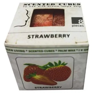 strawberry, scented cubes, waxmelts, scentchips,