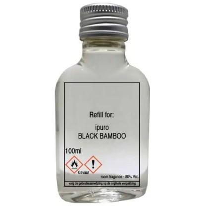 black bamboo, ipuro, navulling, refill, essentials,