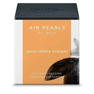 ipuro, airpearls, cupjes, reflets oranges,