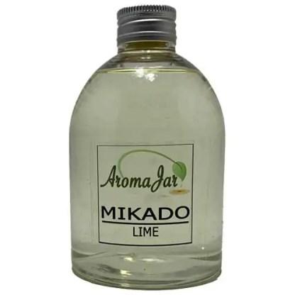 lime, lime light, eco, los flesje, geurstokjes, mikado,