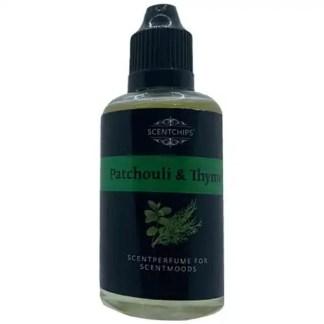 patchouli, thym, scentchips, scentparfume, diffuserolie,