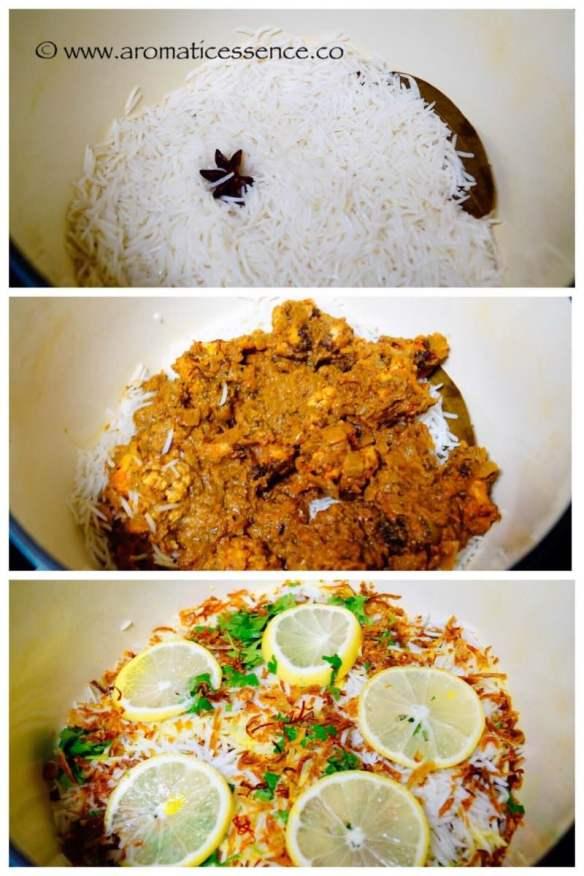 Cauliflower Biryani | Gobi Dum Biryani