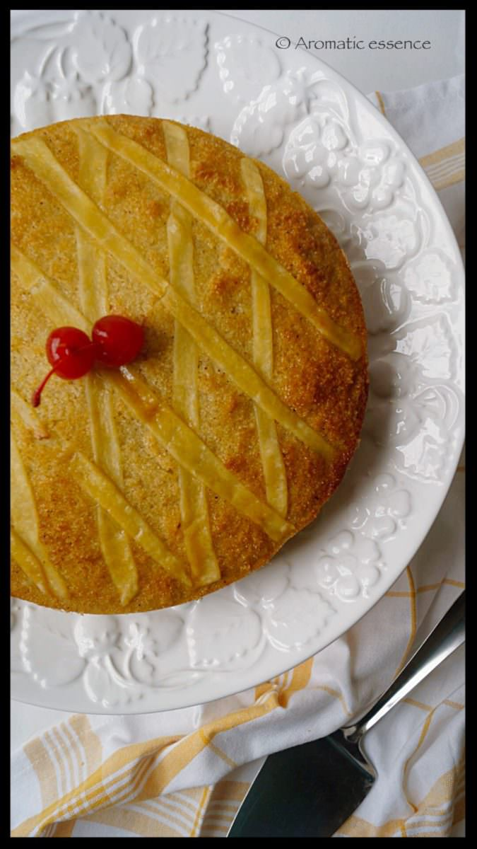 Goan baath cake ( Coconut and semolina cake)