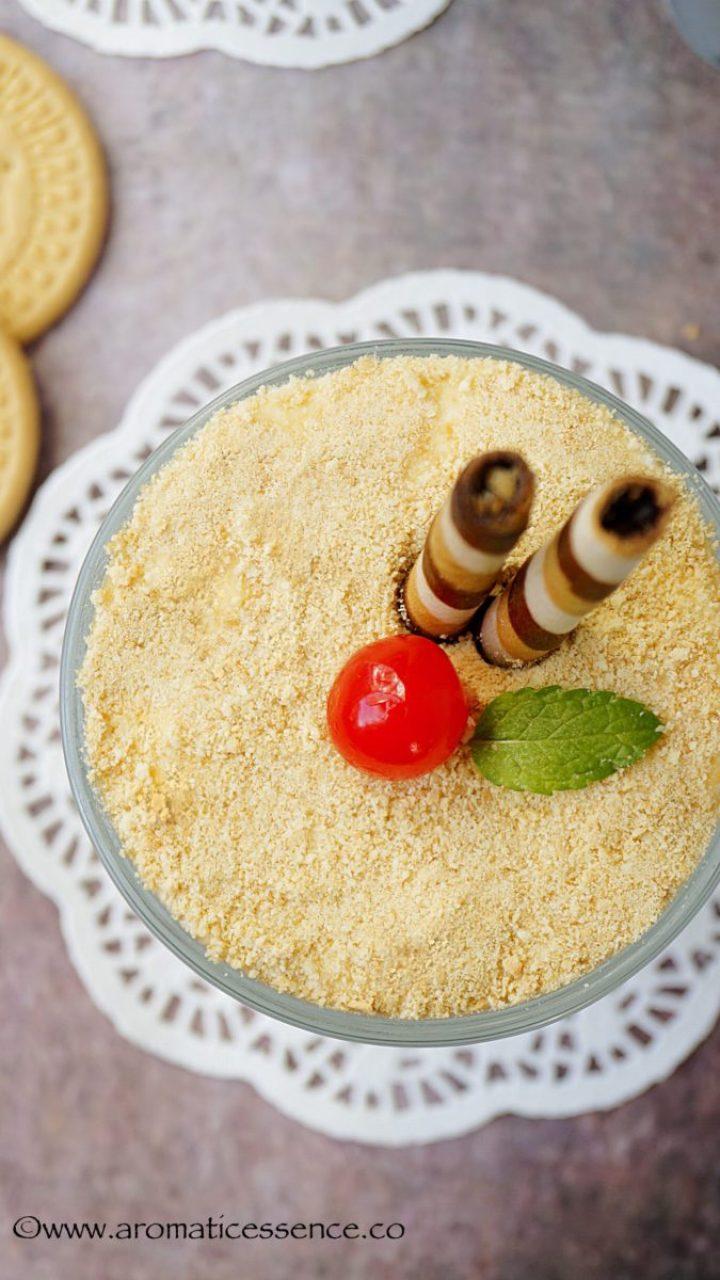 Serradura (Portuguese Sawdust Pudding) | Goan Dessert