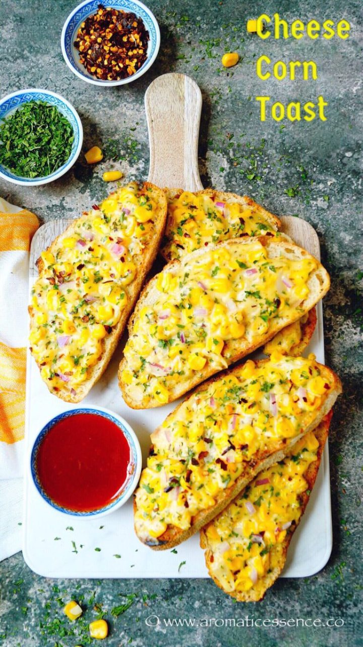 Cheese Corn Toast