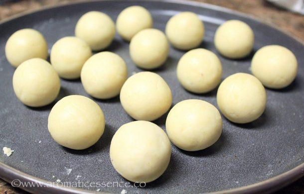 Gulab Jamun dough balls