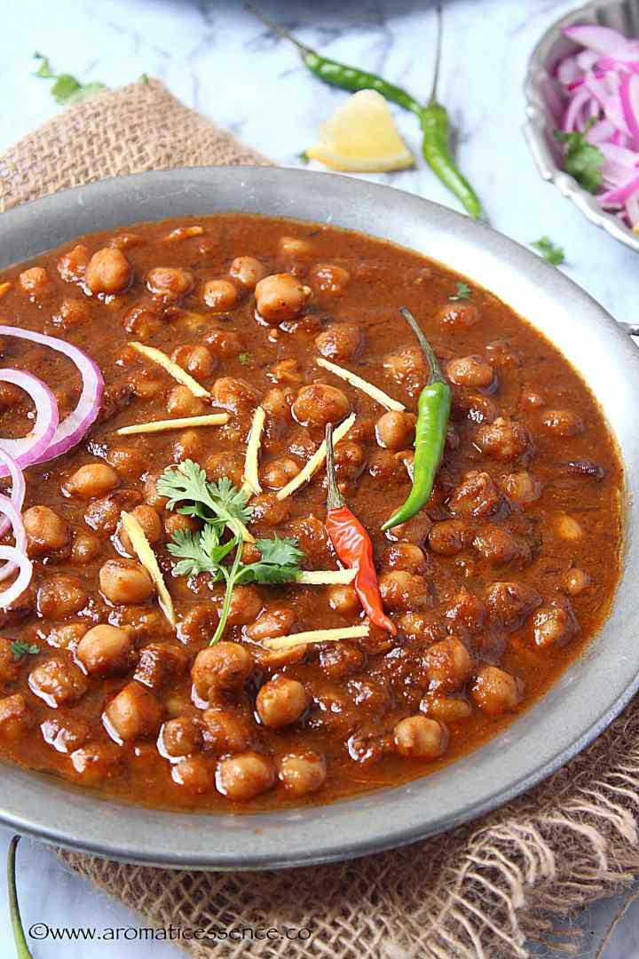 Easy Punjabi Chole Masala