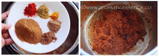 chana masala spices